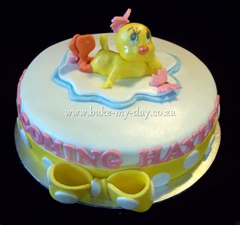 Tweety Bird Baby Shower by Tweety Birdjpg Cake Ideas And Designs