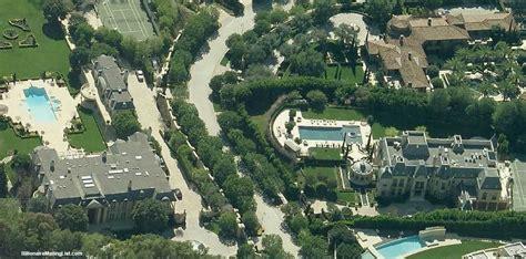 denzel washington house denzel washingtons beverly hills mansion an aerial look