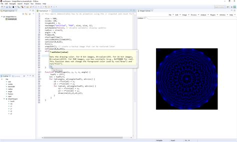 imagej plugin with new eclipse macro editor released