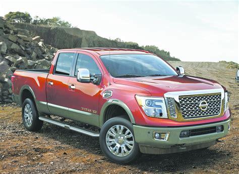 nissan s 2016 titan xd diesel gets quite in