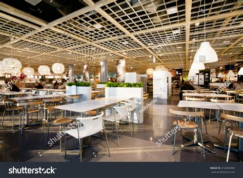The Dining Room Shop by Katowice Poland Aug 4 Interior Dining Stock Photo