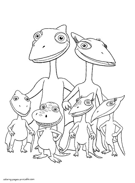dinosaur family coloring page dinosaur family coloring picture