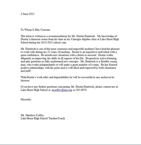 Letter Of Recommendation Docx professional my site
