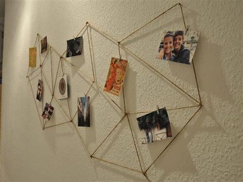 lade da muro fai da te geometrische fotowand aus kordel gestalten