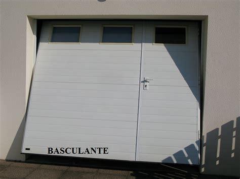 porte de garage basculante avec porte portes de garage challans alu