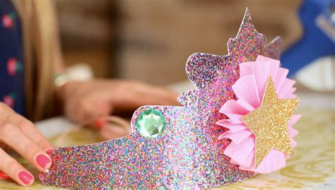 How To Make A Paper Princess Crown - a birthday to remember diy princess crowns