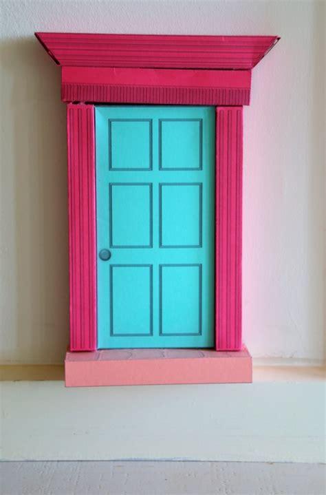 printable elf door fairy doors craft n home