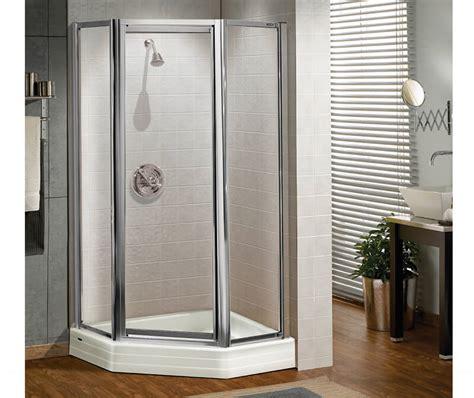 neo angle shower door 70 h silhouette plus neo angle pivot shower door 38 x 38 x 70 in