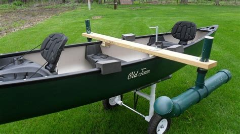 outboard boat motor transport stabilizer diy canoe stabilizer top 3 ideas with step by step