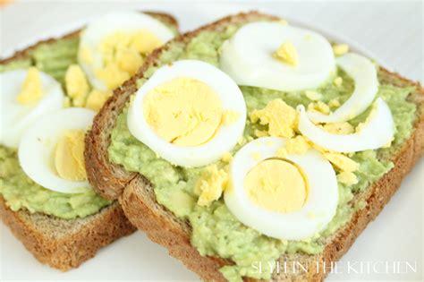 my ate avocado avocado egg toast slyh in the kitchen