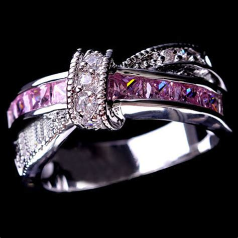 cheap white sapphire engagement rings get cheap white sapphire engagement rings