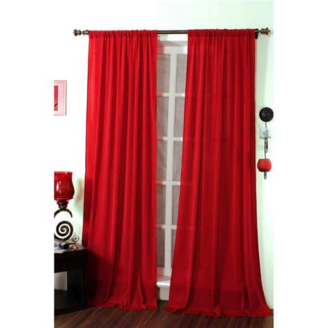 sheer red curtains living room curtains newhairstylesformen2014 com