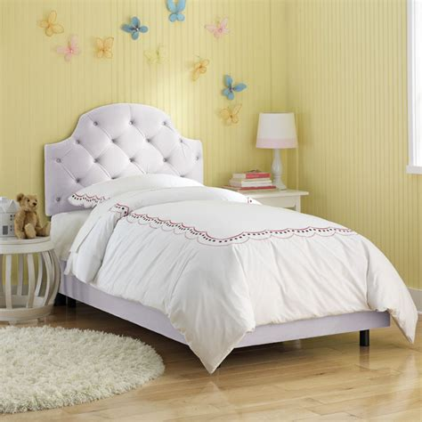twin upholstered bed upholstered headboard cool cribs
