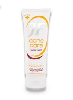 Jf Foam Acne Care 70g 5 rekomendasi skin care berbahan sulfur untuk mengatasi