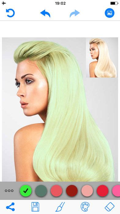 hair color changer editor free android app android freeware hair color changer salon booth app download android apk