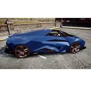 Lamborghini Egoista Pour GTA 4