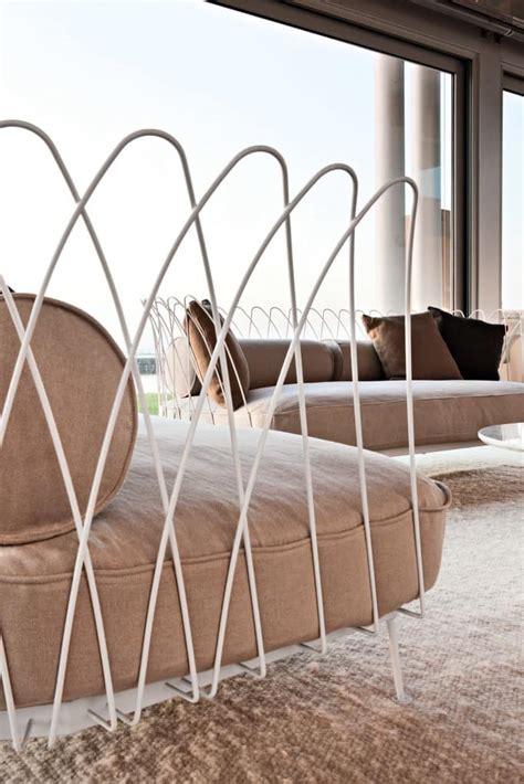 divanetti per esterni divano con struttura in acciaio verniciato per esterni