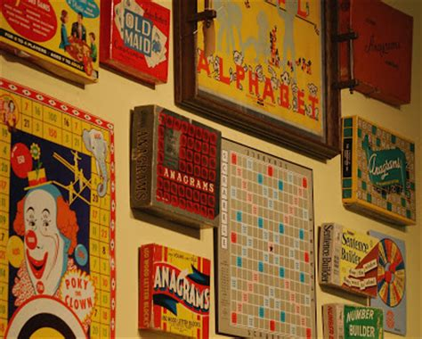 Scrabble Letters Home Decor Decorating Are You Game Foursided