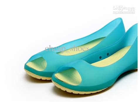 Yellow Black Jelly Flat Shoes 38 2013 explosion models jelly shoes fish
