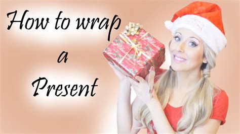 how to wrap a gift in 6 easy steps how to wrap a present gift simple easy youtube