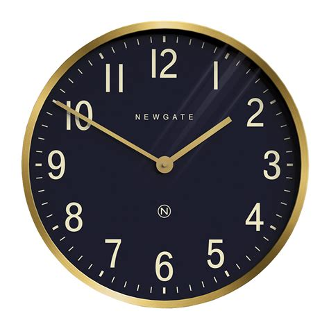 clock buy buy newgate clocks mr edwards wall clock radial brass