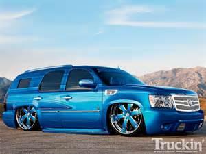 2008 chevy tahoe custom suvs truckin magazine
