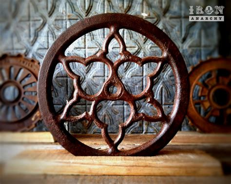 antique industrial gear decor home decor