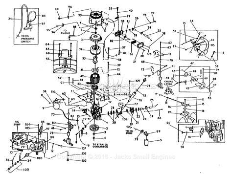 text diagram generator generac 803 4 parts diagram for generator