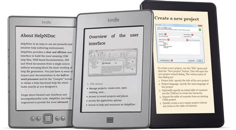 ebook format support create ebooks for the amazon kindle feature tour helpndoc