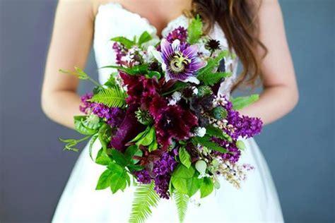 Wedding Wednesday :: Purple, Plum & Lavender Bouquets