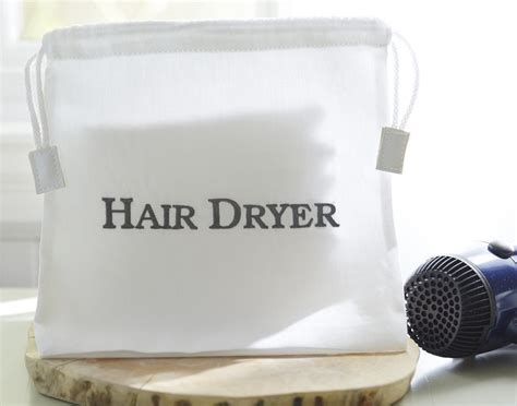 Hair Dryer Luggage Ryanair vacation rental hotel hair dryer bag the distinguished guest