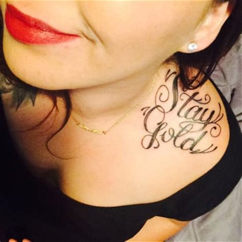 nothing gold can stay tattoo bad influence 78 photos parlours