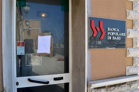 popolare di bari filiali porto assalto in corrieredelmezzogiorno