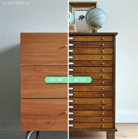 Diy Kitchen Drawers by Diy Multi Drawer Cabinet From Laminate Bedside Table The