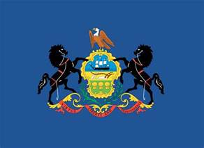 of pennsylvania colors 50 state flags of the usa 1