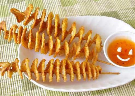 kentang goreng spiral peluang usaha makanan