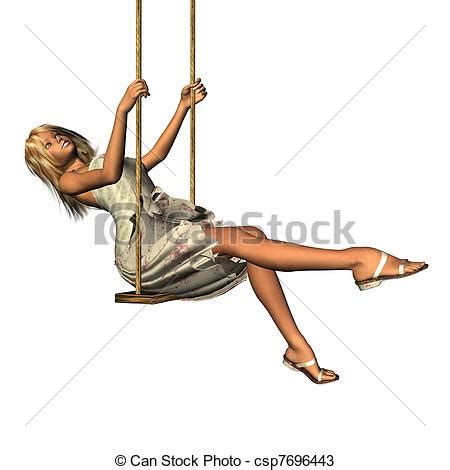 girl on a swing drawing drawings of girl on a swing sun tanned blonde girl on a
