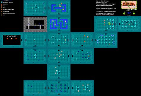 legend of zelda map dungeon 1 adrian s blog cyborg unicorn wizard battles and game