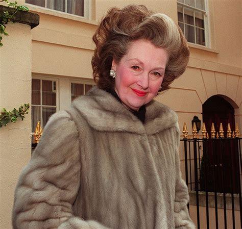 Raine Spencer | princess diana s stepmother dies aged 87