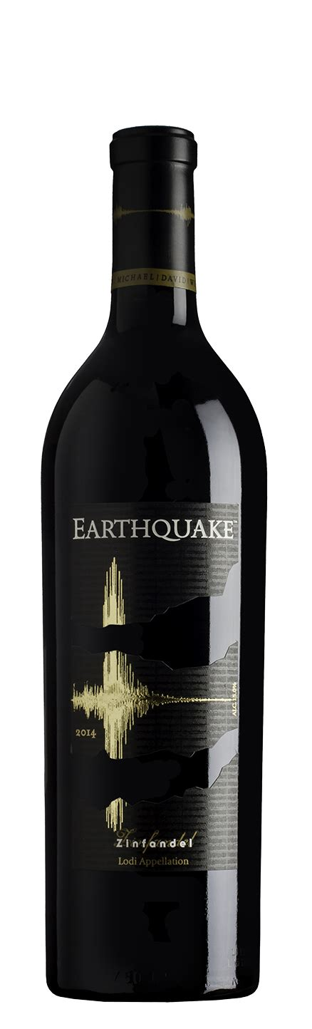 earthquake zinfandel wines michael david winery