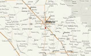 map of fresno california fresno location guide