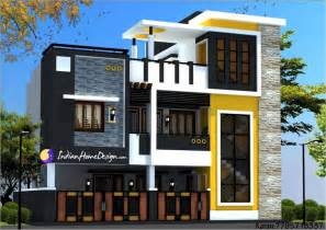 modern contemporary style two floor chennai home design by