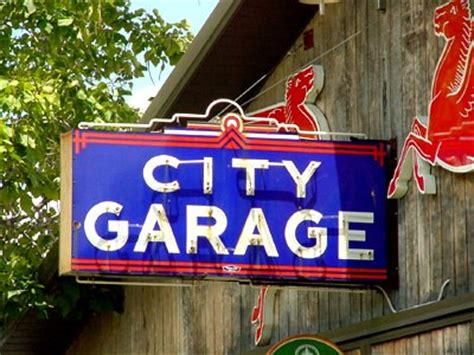 Neon Garage Signs by Neon In Series 2
