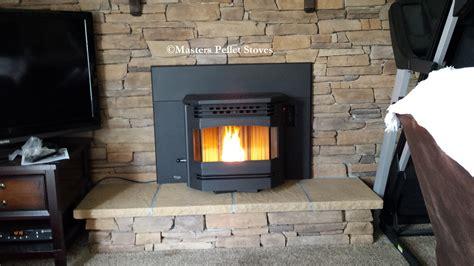 meridian fireplace insert pellet stove masters pellet stoves