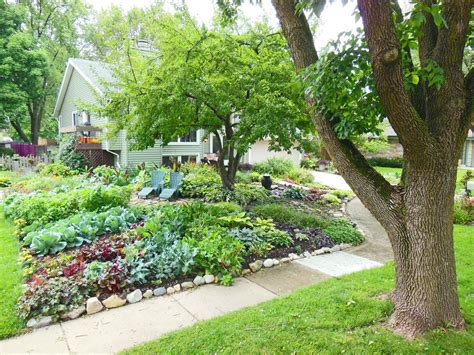 38 Homes That Turned Their Front Lawns Into Beautiful Beautiful Vegetable Garden Pictures