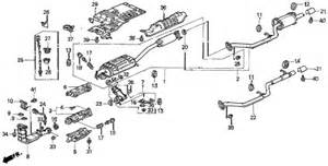 2000 Honda Odyssey Exhaust System Diagram Honda Odyssey Exhaust System Diagram Honda Free Engine
