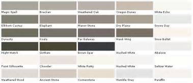 valspar color chart behr paints chip color swatch sle and palette 2017