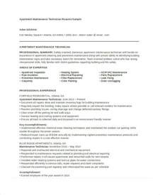 Maintenance Resume Template Maintenance Resume 9 Free Word Pdf Documents Download