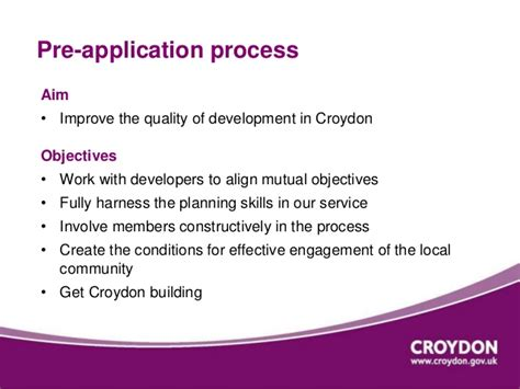 croydon planning application process our pre application offer at croydon council