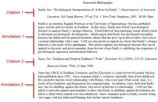 Annotated bibliography tips roosevelt university composition ii